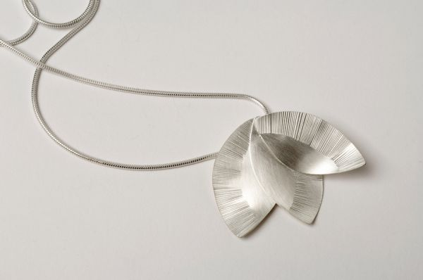 Pressed Flower Necklace by Nina Ellis