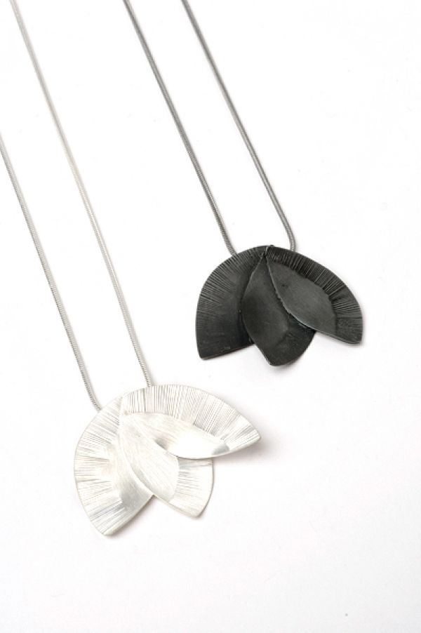 Pressed Flower Pendants by Nina Ellis
