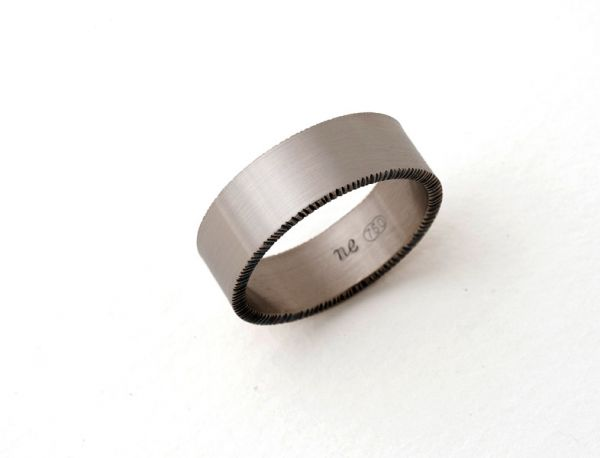 Chisel Ring- Wide by Nina Ellis