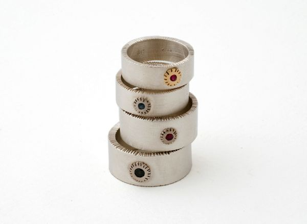 Chisel Rings- Various by Nina Ellis