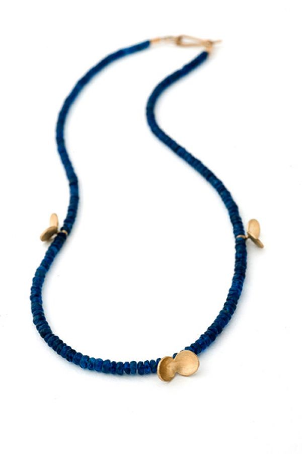 Split Pea Necklace by Nina Ellis